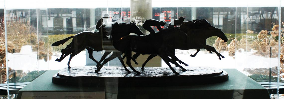 Sculpture Gallery at the National Museum of Racing and Hall of Fame