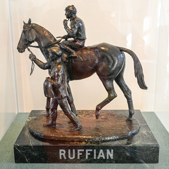 Ruffian bronze by Eleanor Iselin Wade, Sculpture Gallery (Bob Mayberger)
