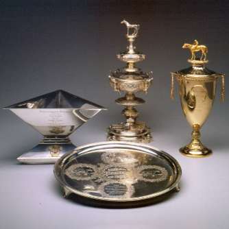 The Triple Crown Trophies of Count Fleet