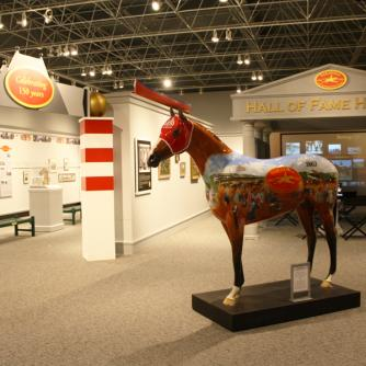 Alfred Z. Solomon Sesquicentennial Exhibit: Celebrating 150 years of racing in Saratoga, Peter McBean Gallery
