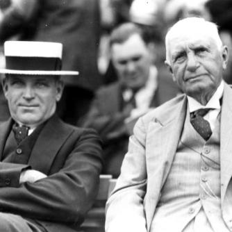 Hollie Hughes and John Sanford, Aqueduct 1938. Credit: Keeneland-Cook