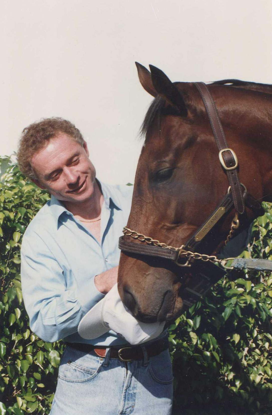 Paseana with jockey Chris McCarron at Gulfstream Park, October 1992 (Barbara D. Livingston/Museum Collection)
