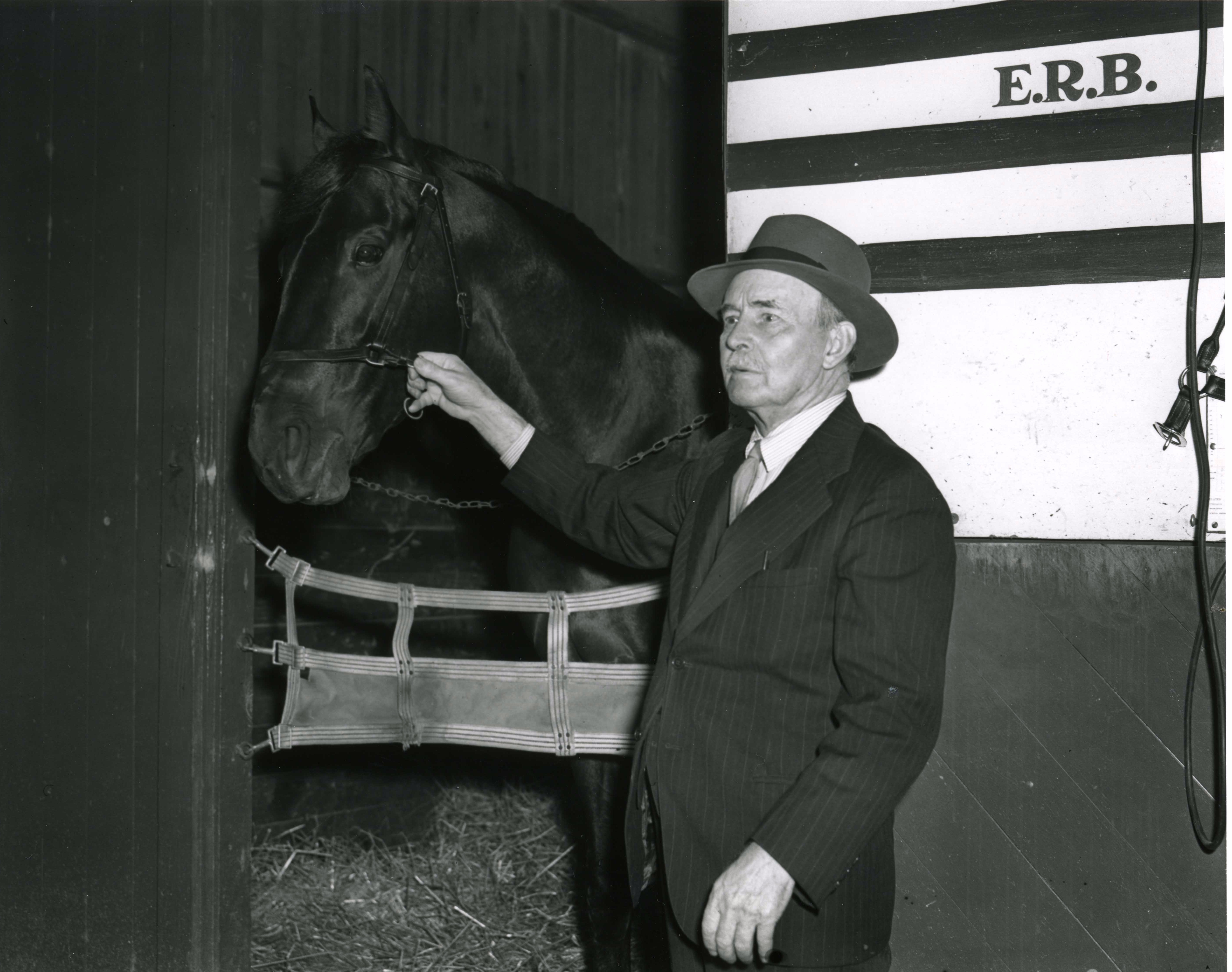 Bimlech at Hialeah, February 1941 (Keeneland Library Morgan Collection/Museum Collection)