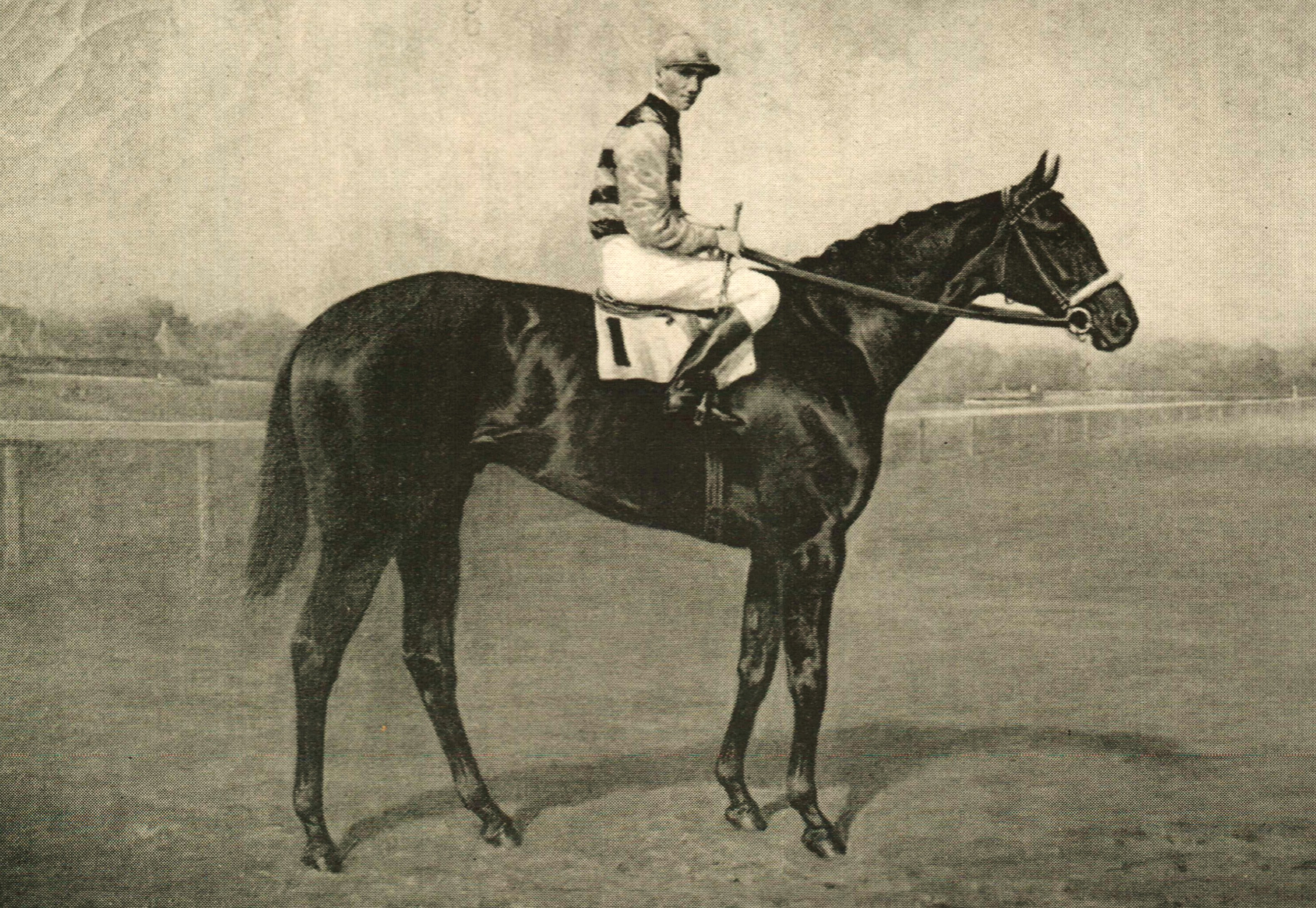 A likeness of Billy Kelly (Keeneland Library Collection)