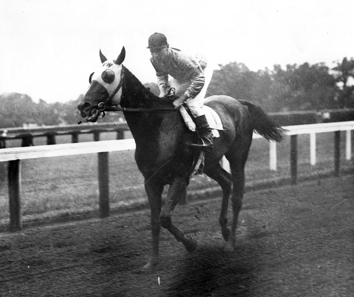 Equipoise with Alfred Robertson up in 1931 (Museum Collection)