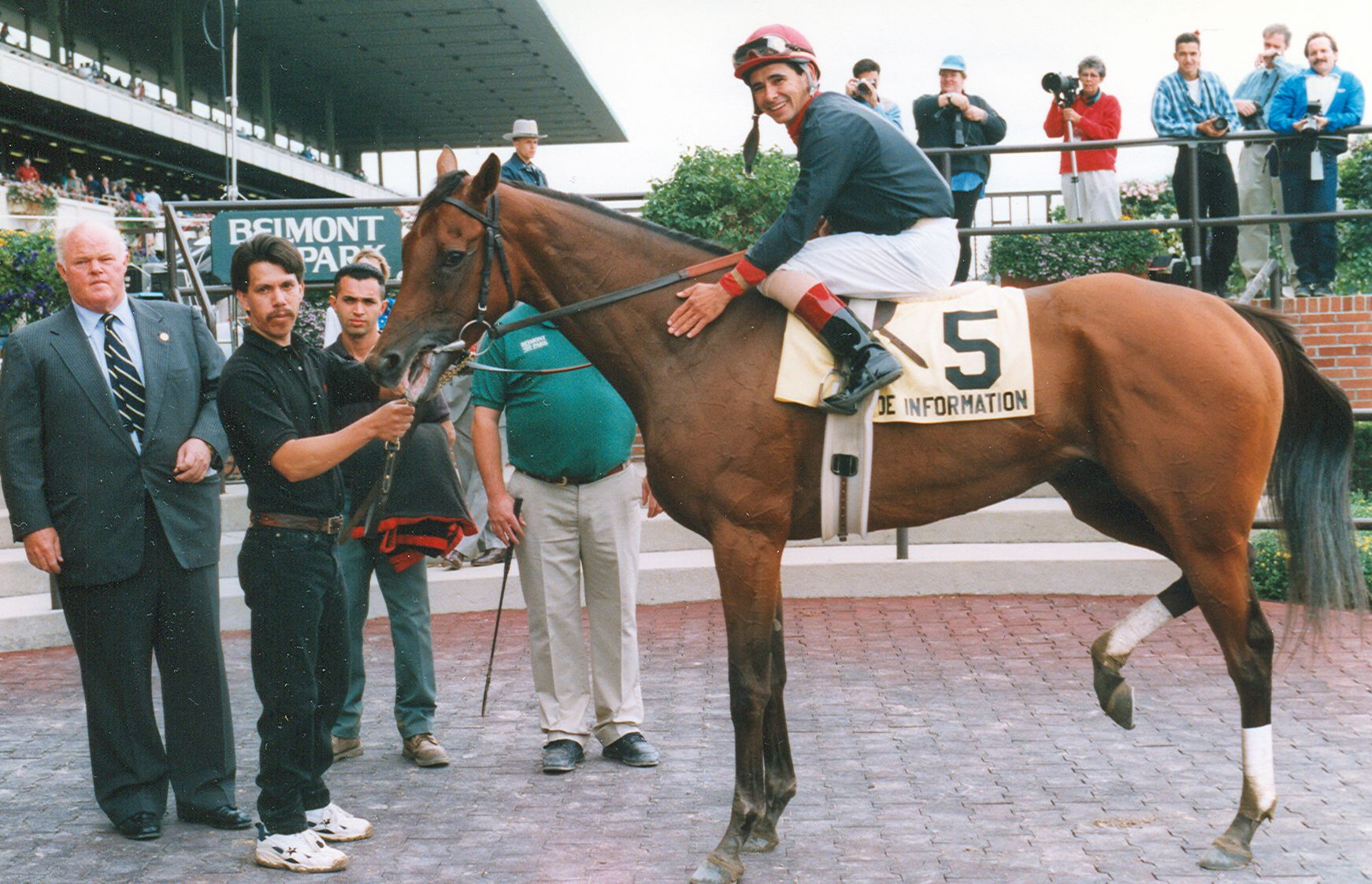 Inside Information, Mike Smith up (NYRA)