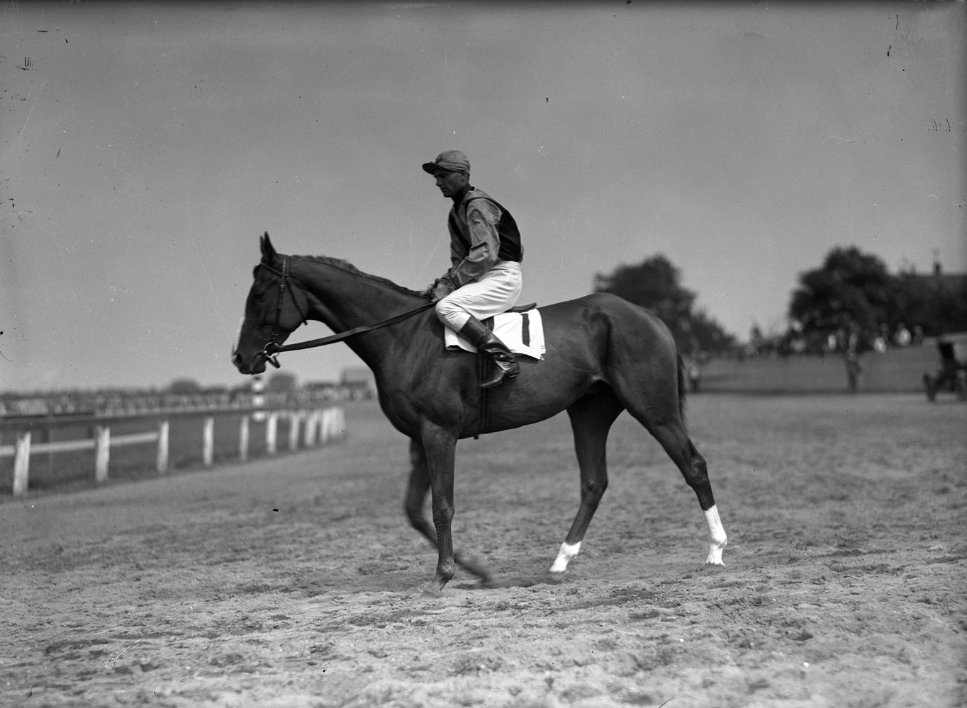 Sarazen with Earl Sande up (Keeneland Library Cook Collection)