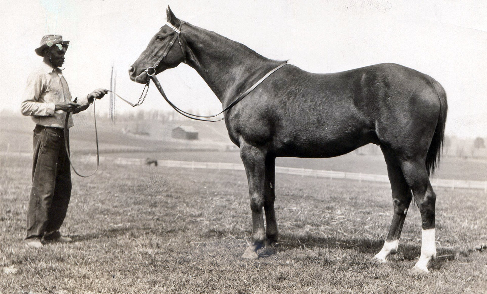 Sarazen in retirement at Brookdale Farm in 1930 (L. S. Sutcliffe/Museum Collection)