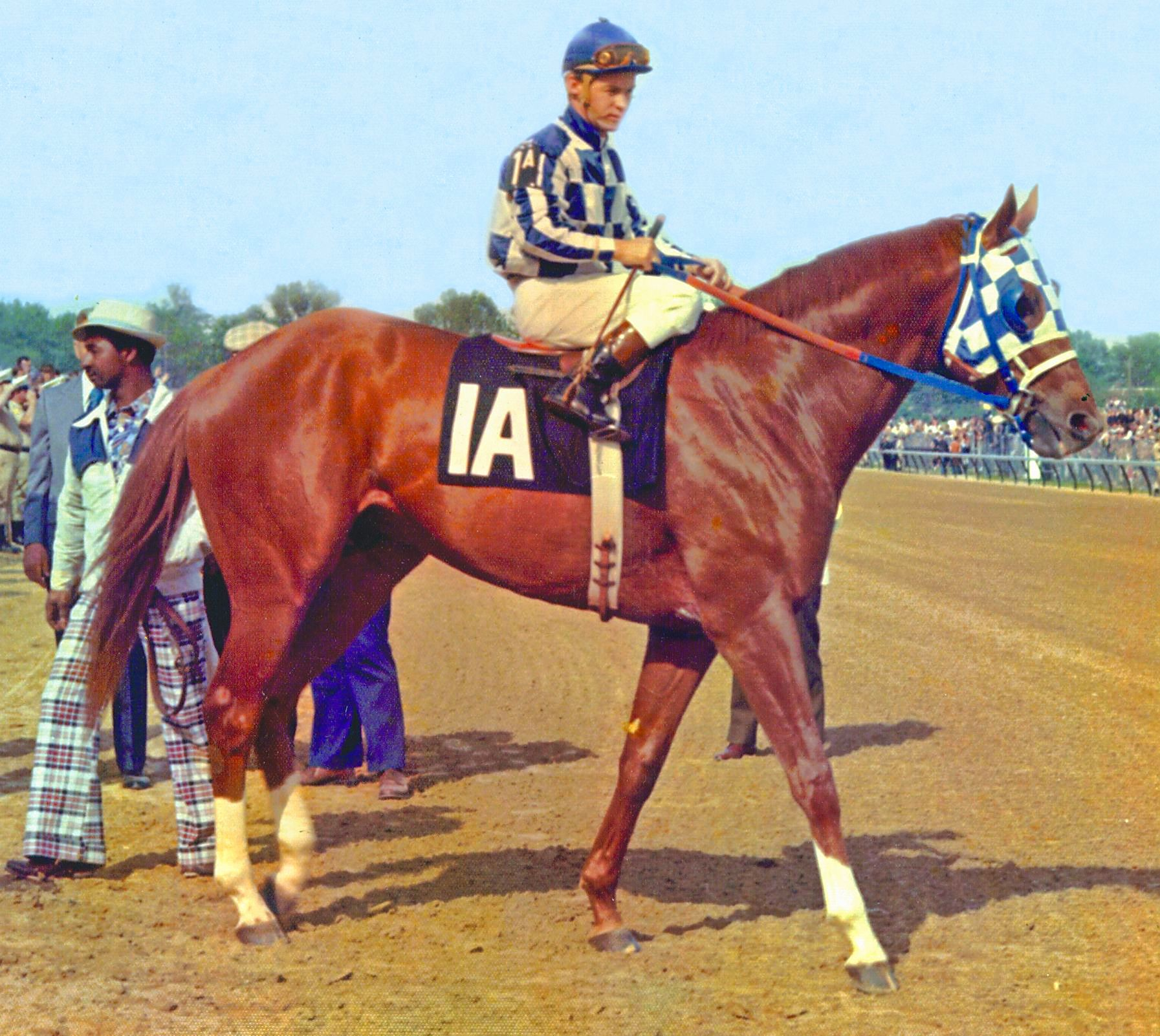 Secretariat with Ron Turcotte up (NYRA)