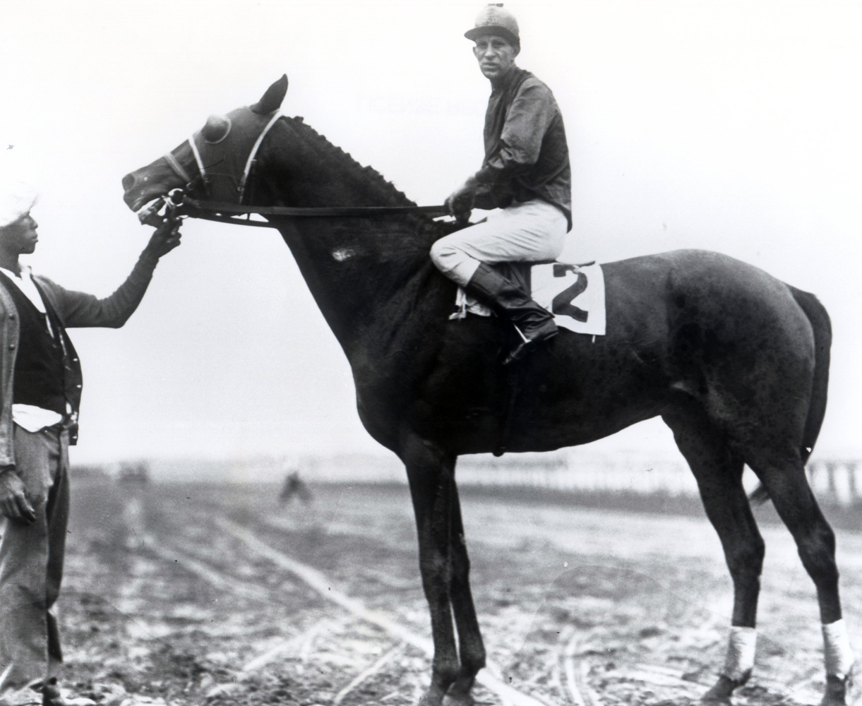 Sun Beau with Frank Coltiletti up, 1930 (Keeneland Library Cook Collection/Museum Collection)