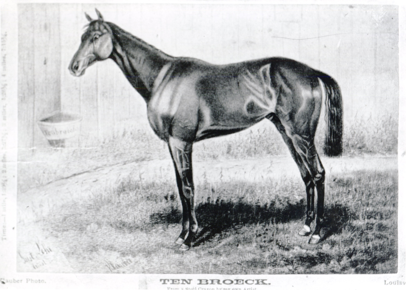Portrait of Ten Broeck (Keeneland Library McClure Collection/Musuem Collection)