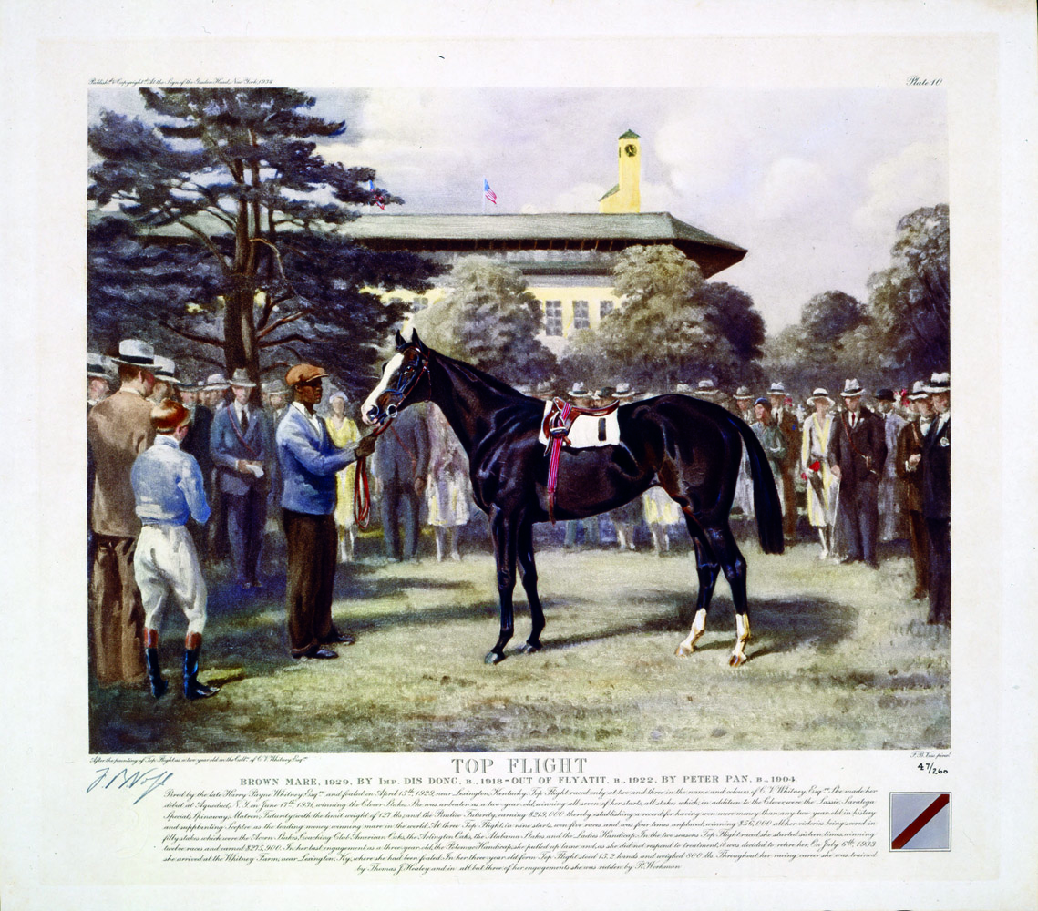 Franklin Brooke Voss print of Top Flight (Museum Collection)