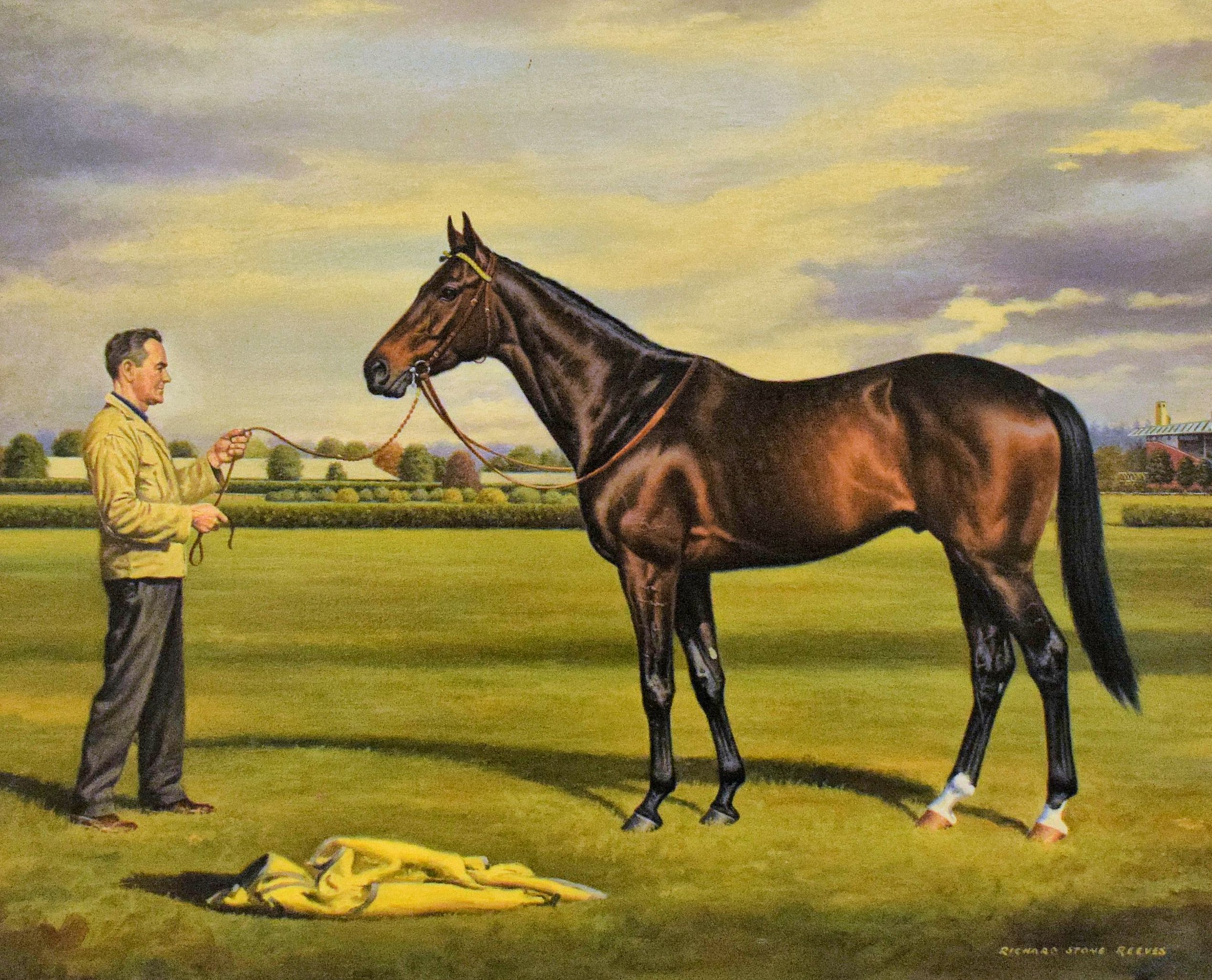 Painting of Kelso by Richard Stone Reeves (Museum Collection)