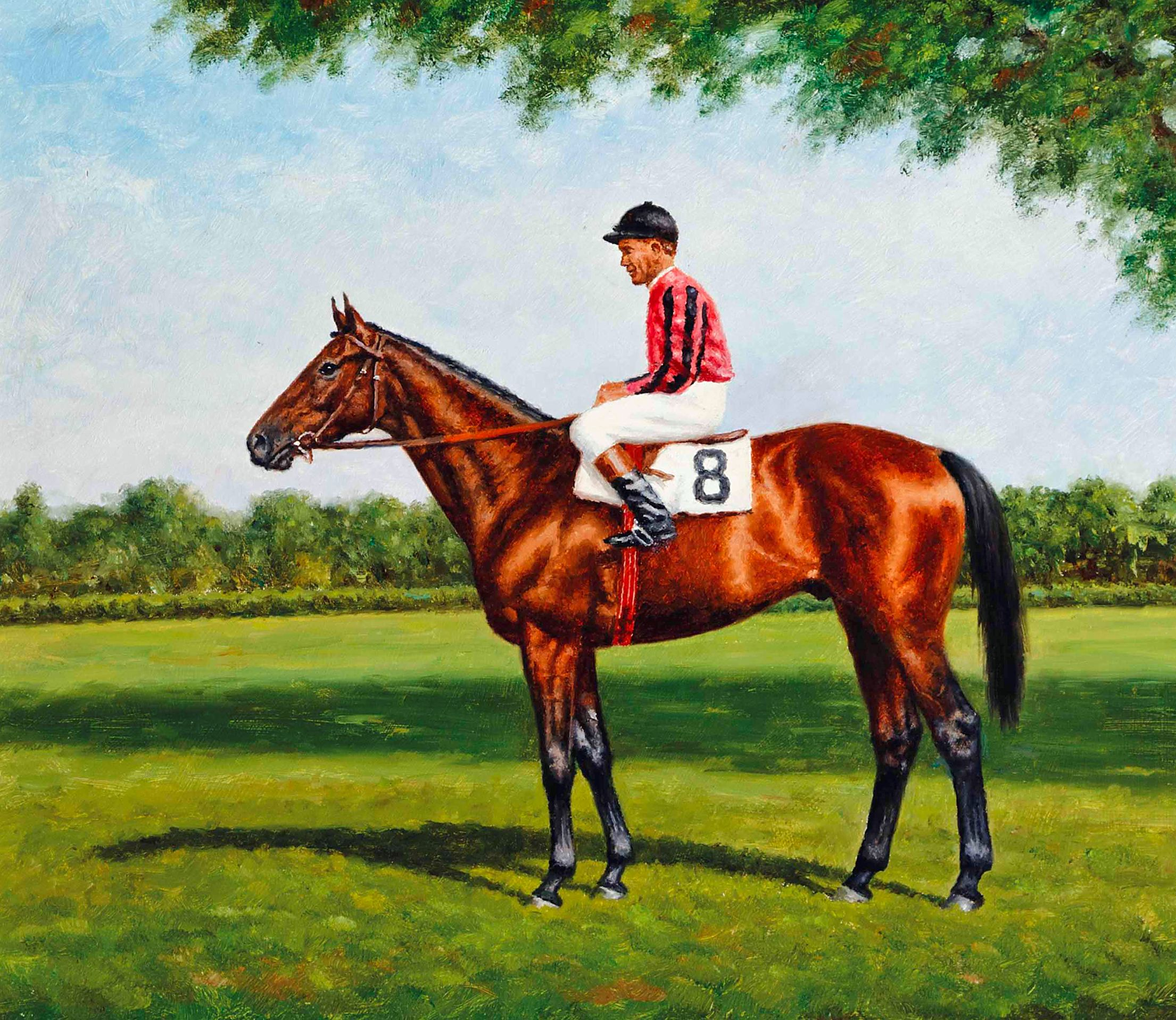 Painting of Twenty Grand by Richard Stone Reeves