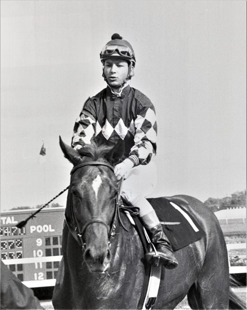 Chris Antley in December 1985 (Keeneland Library Thoroughbred Times Collection)