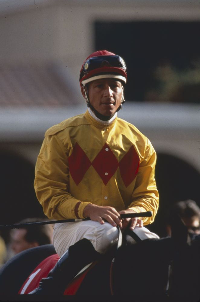 Chris Antley in August 1995 (Keeneland Library Katey Barrett Collection)