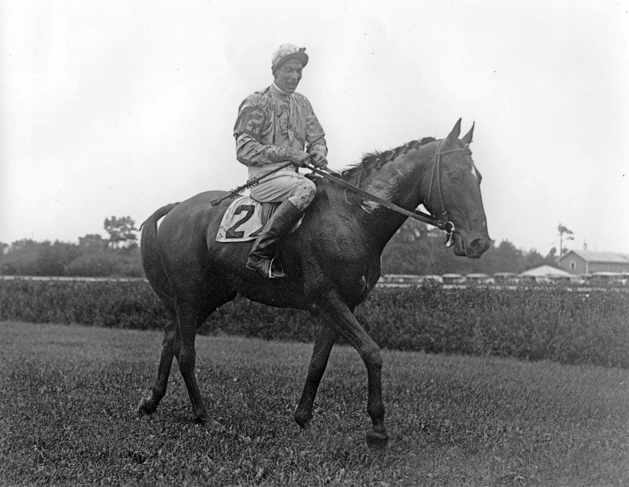 Carroll Bassett and Battleship (Keeneland Library Morgan Collection/Museum Collection)
