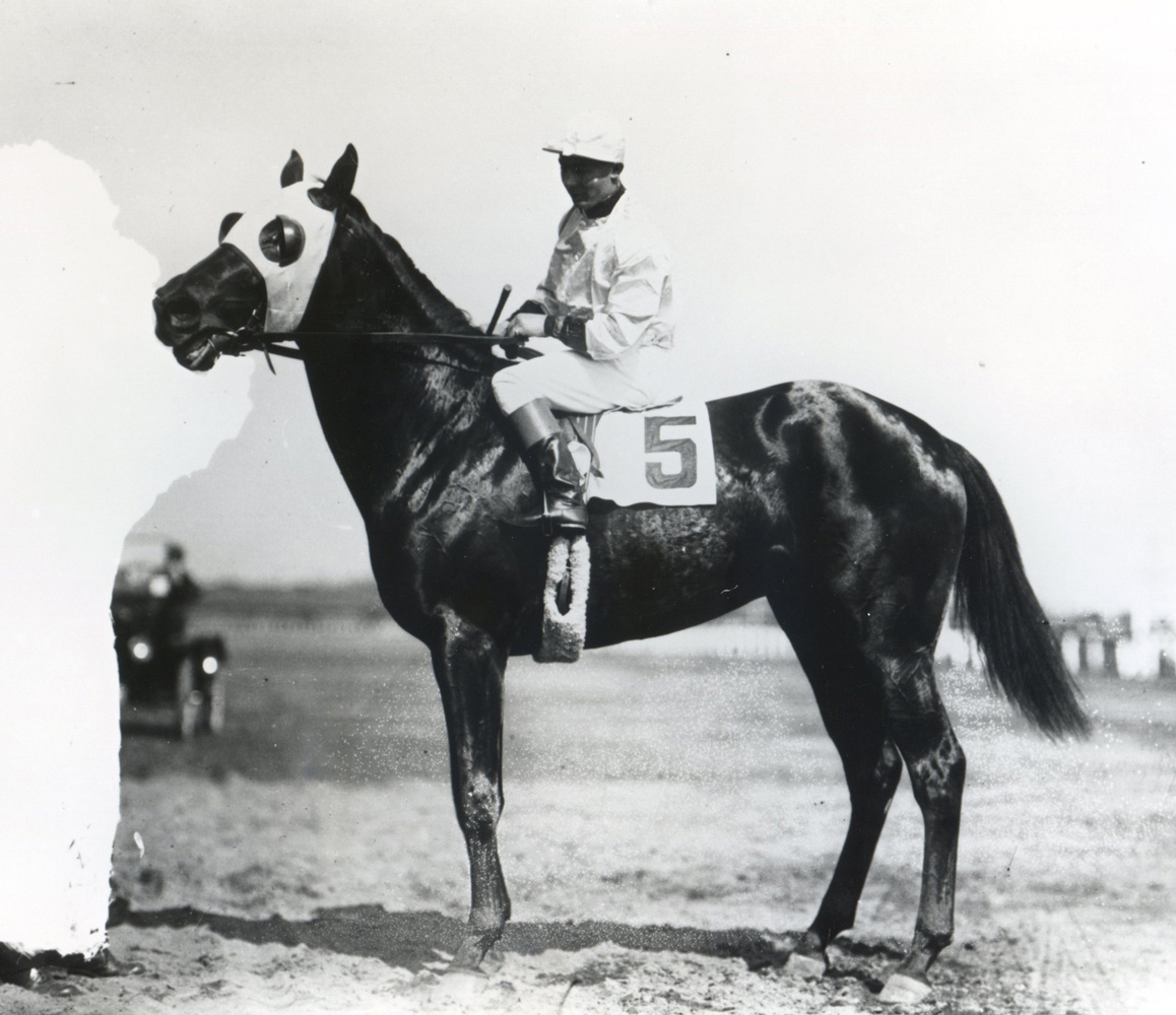 Laverne Fator and Zev (Keeneland Library Cook Collection/Museum Collection)