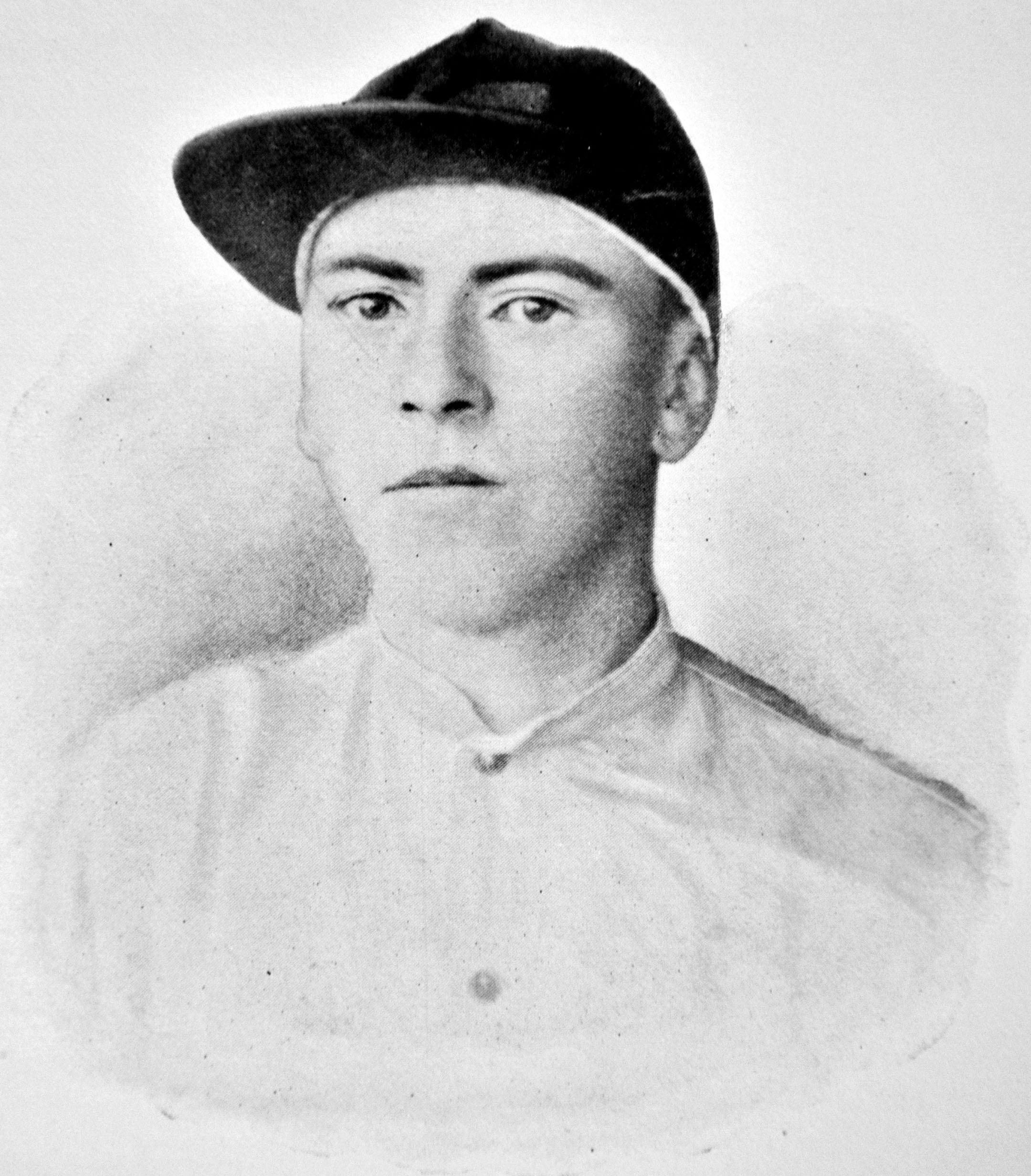 Photograph of jockey Lloyd Hughes from The American Turf (Museum Collection)
