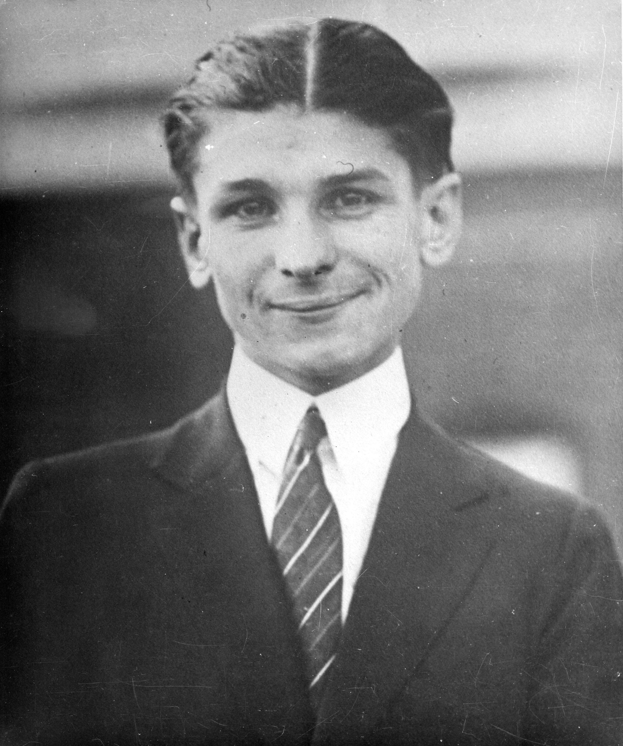 Albert Johnson, circa 1922 (Museum Collection)