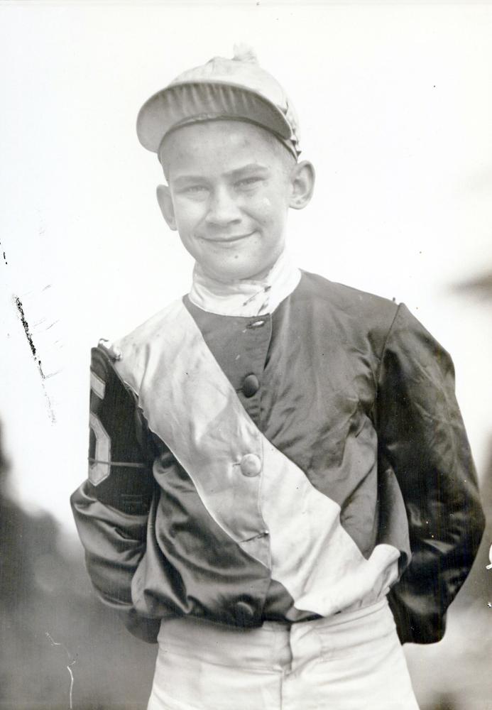 Jack Westrope at Washington Park in 1933 (H. C. Ashby/Musuem Collection)