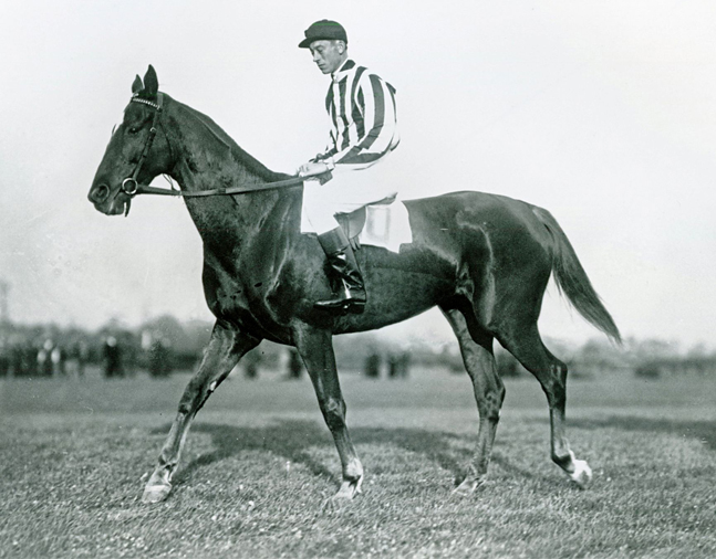 J. Dallet Byers on Fairmount (Keeneland Library Cook Collection/Museum Collection)