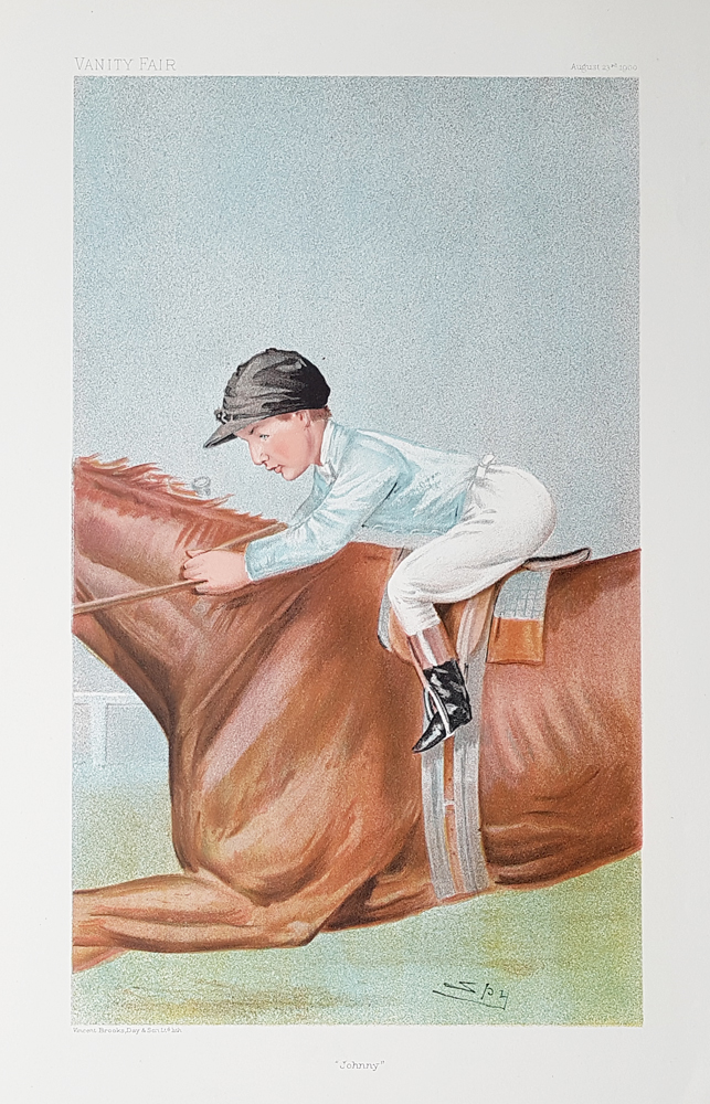 Vanity Fair print featuring John Reiff, August 23, 1900 (Museum Collection)