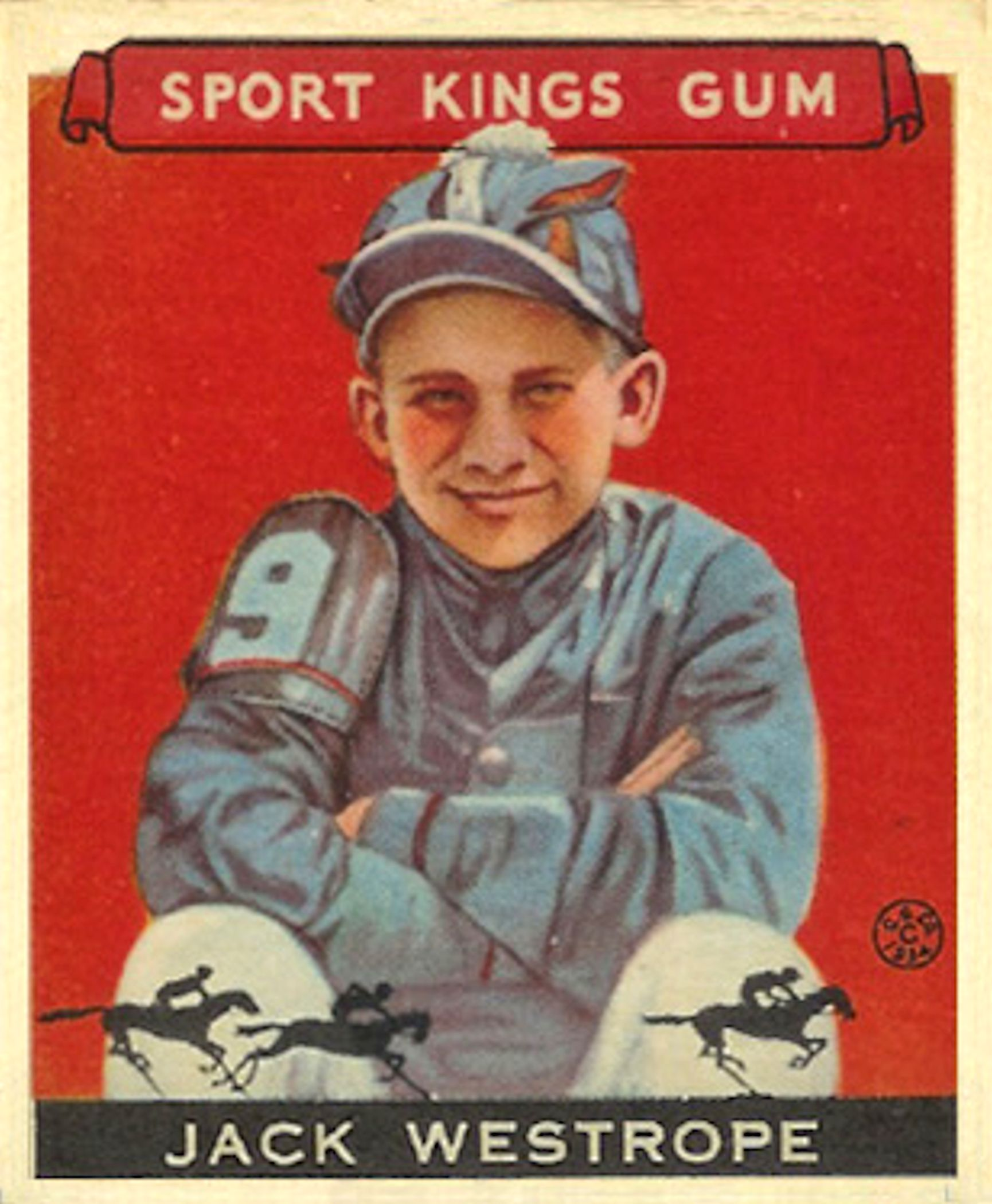 Jack Westrope, 1933 Sport Kings (Public Domain)