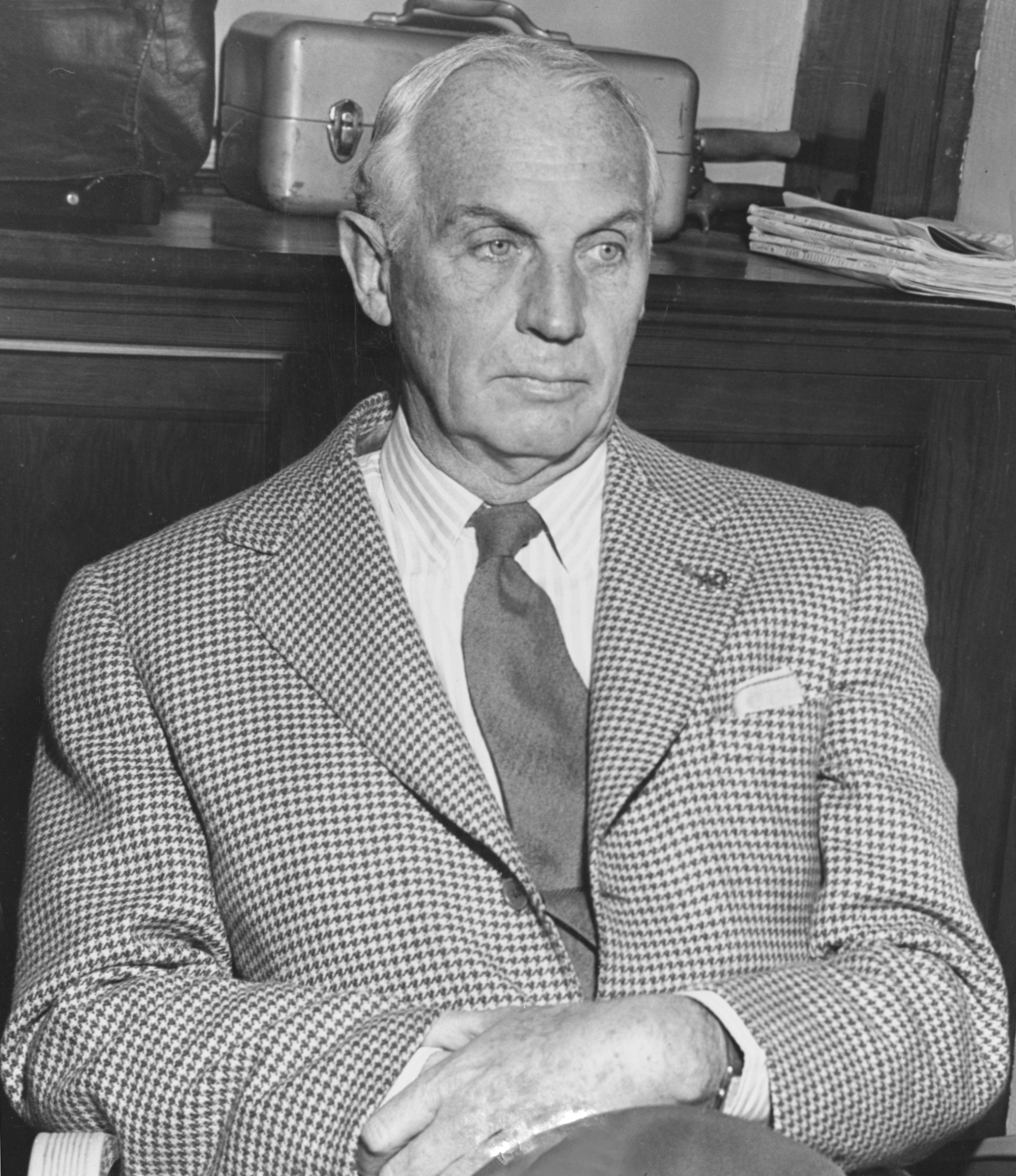 George D. Widener Jr. (E. Martin Jessee photo/Keeneland Library)