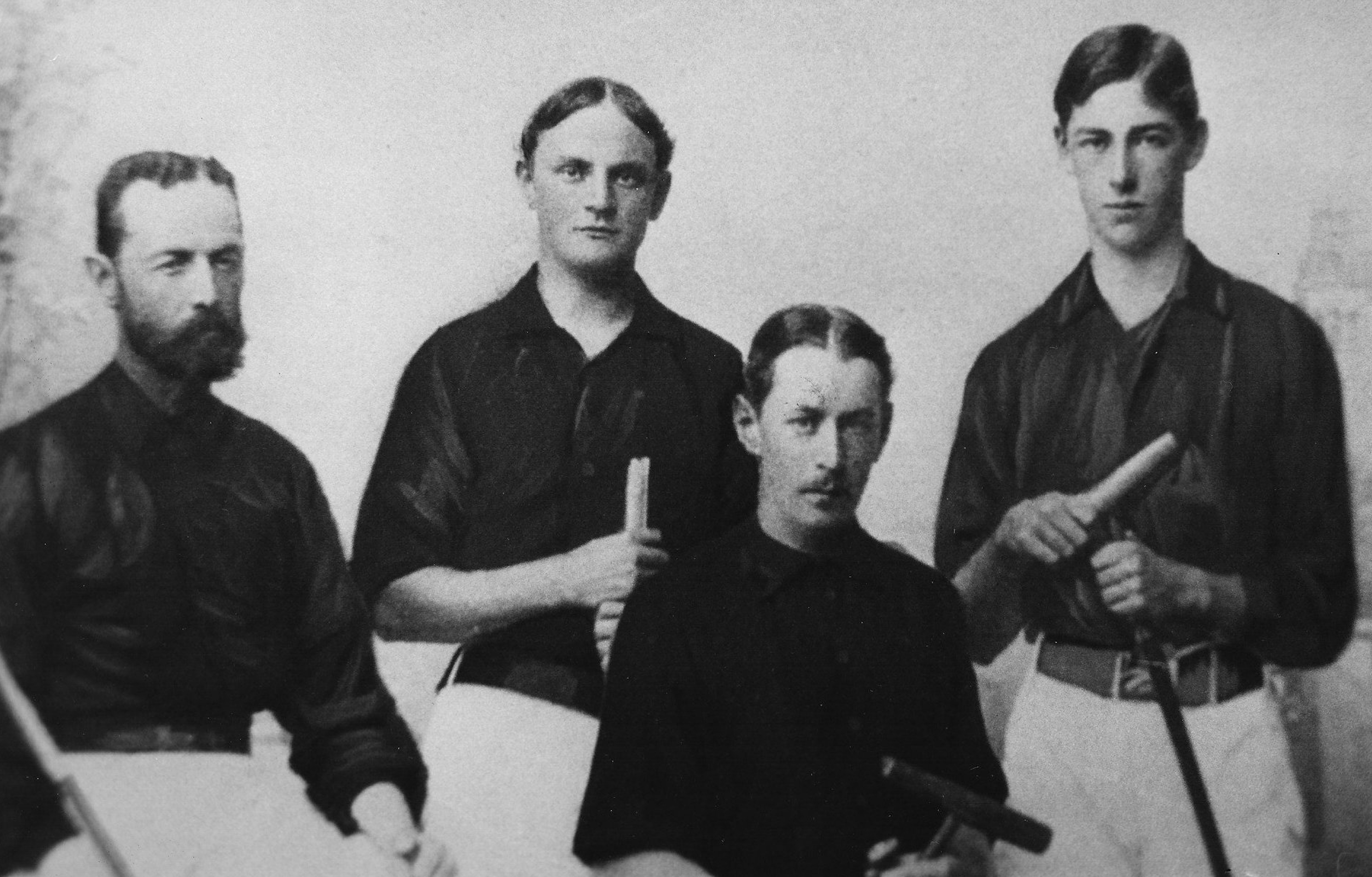 Harry Payne Whitney, far right (Museum of Polo and Hall of Fame)