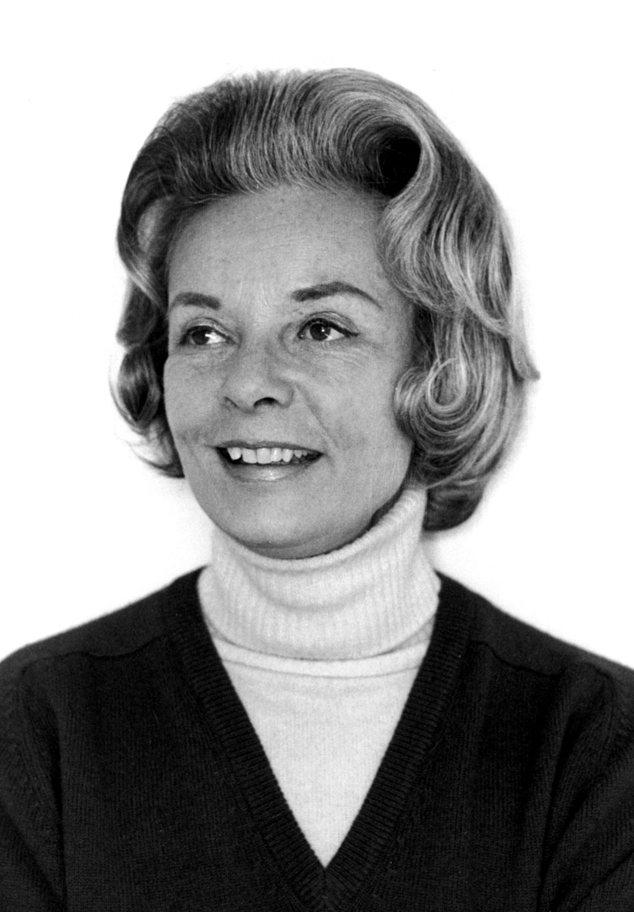 Alice Headley Chandler, December 1972 (Keeneland Library Featherston Collection)