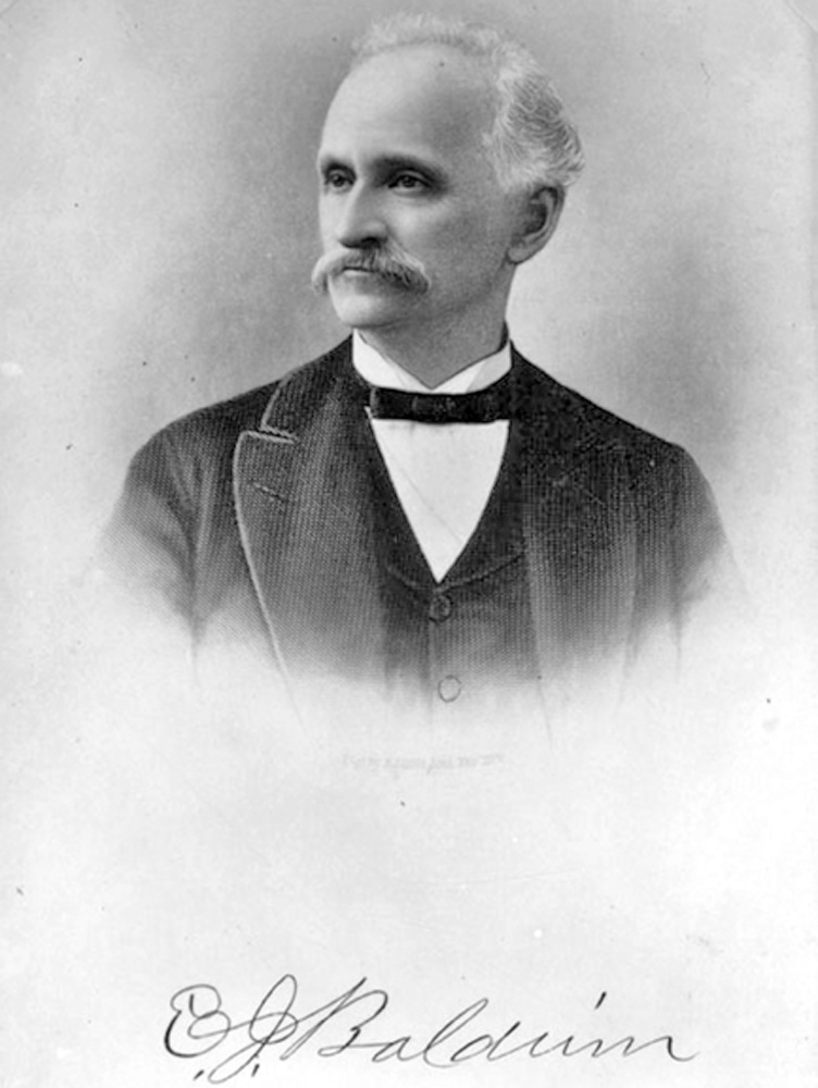 Portrait of Elias J. Baldwin (Arcadia Historical Society)