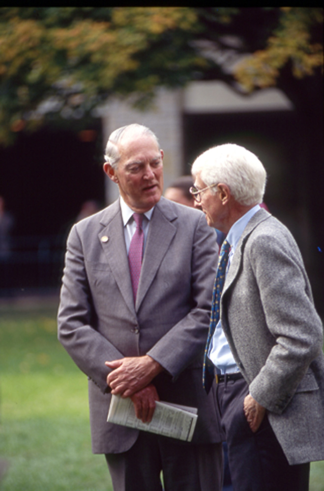 Ted Bassett and William T. Young (Keeneland Association)