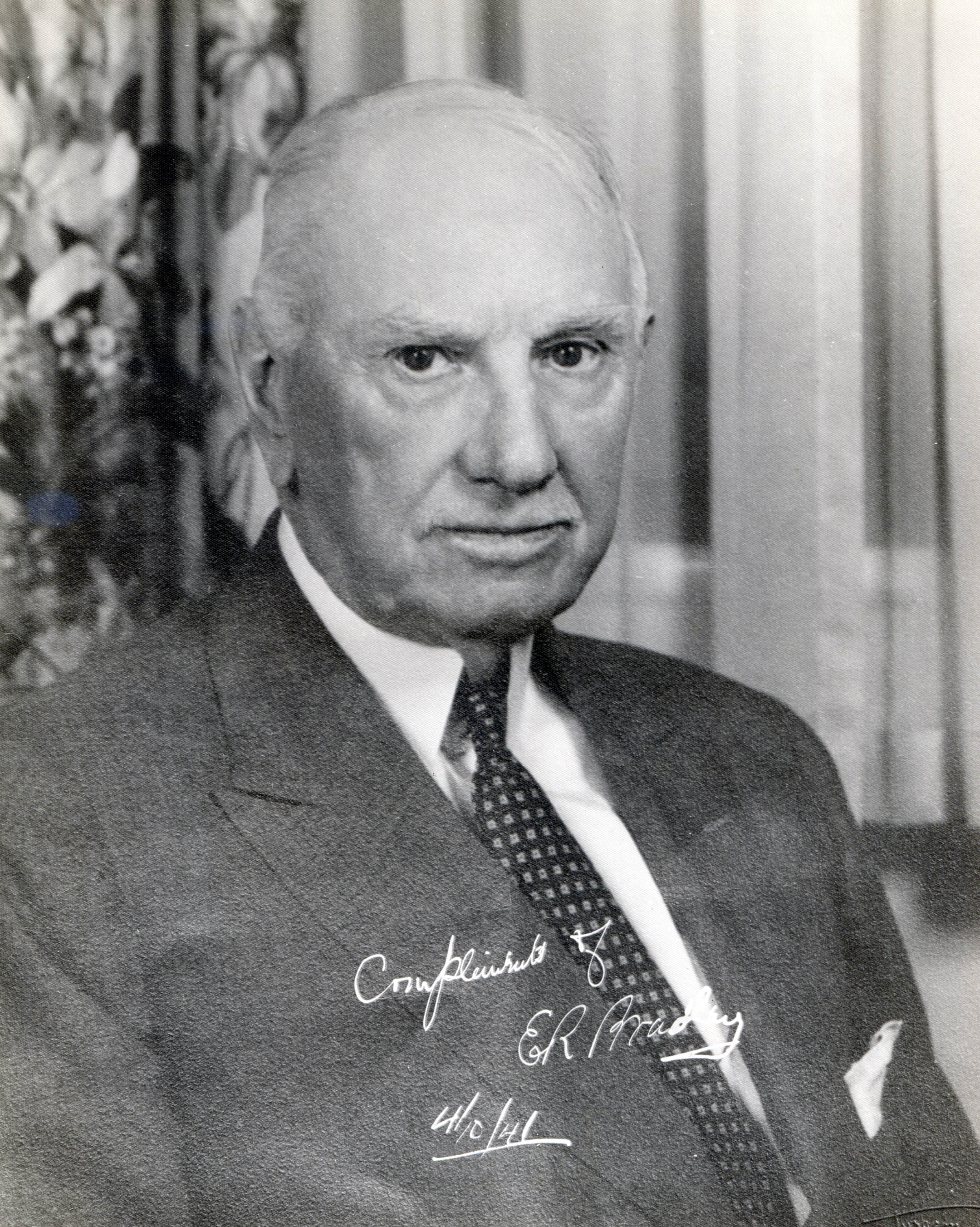 Portrait of E. R. Bradley, 1941 (Museum Collection)