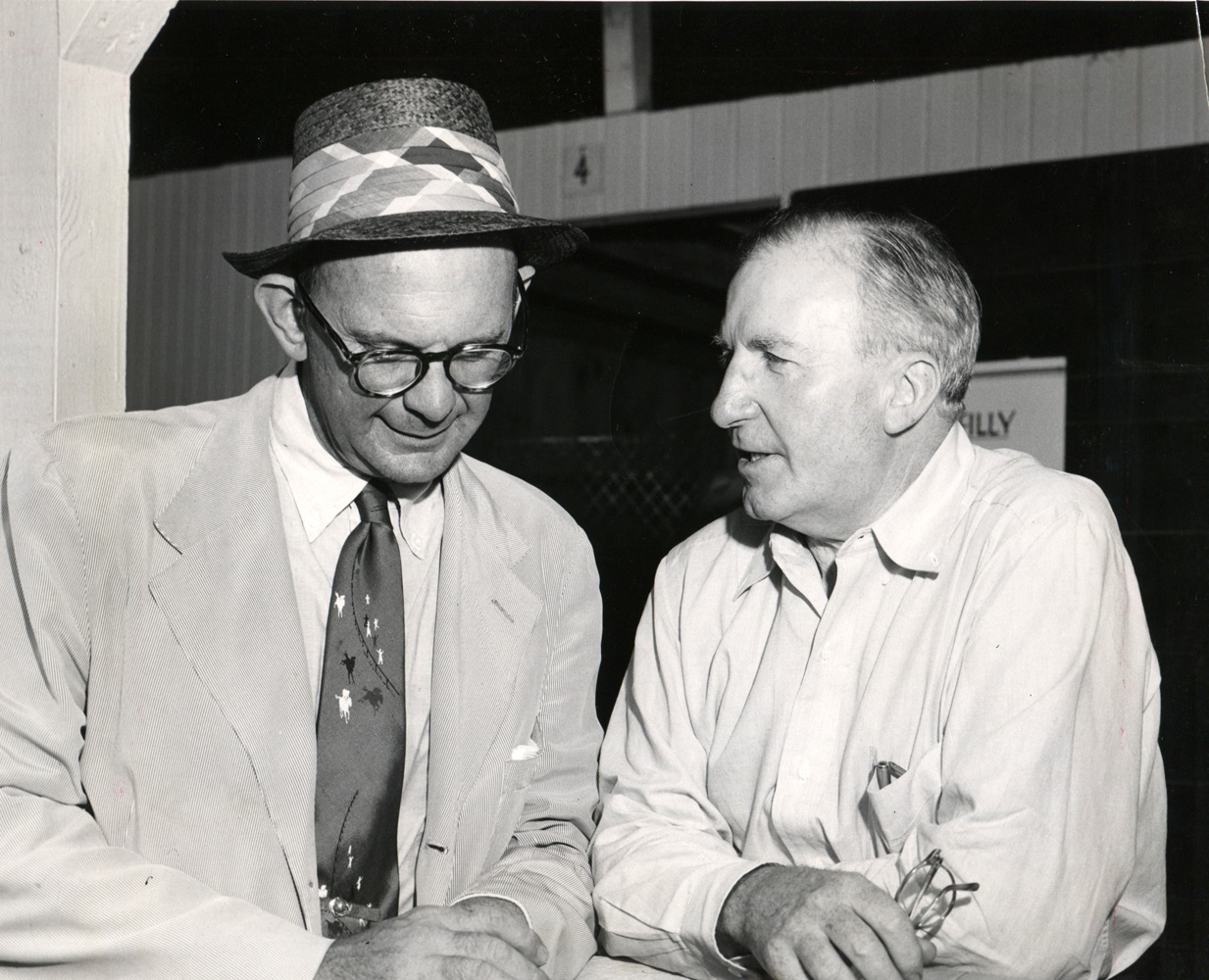 Bull Hancock and John Hanes (Museum Collection)