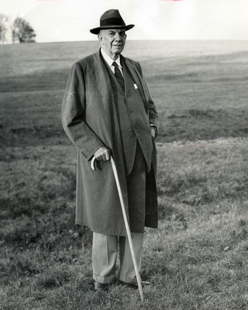 Arthur Boyd Hancock, Sr. (Keeneland Library Thoroughbred Times Collection)