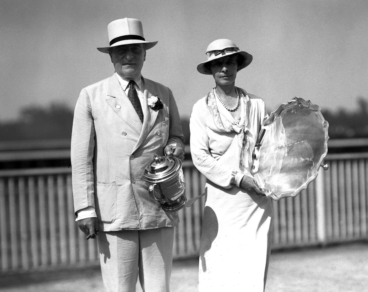Ogden Mills and Gladys Mills Phipps (Keeneland Library Cook Collection)