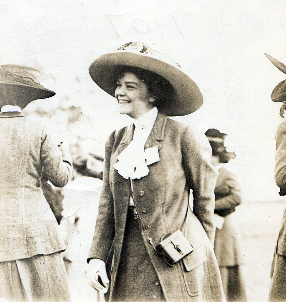 Helen Hay Whitney in 1907 (Museum Collection)