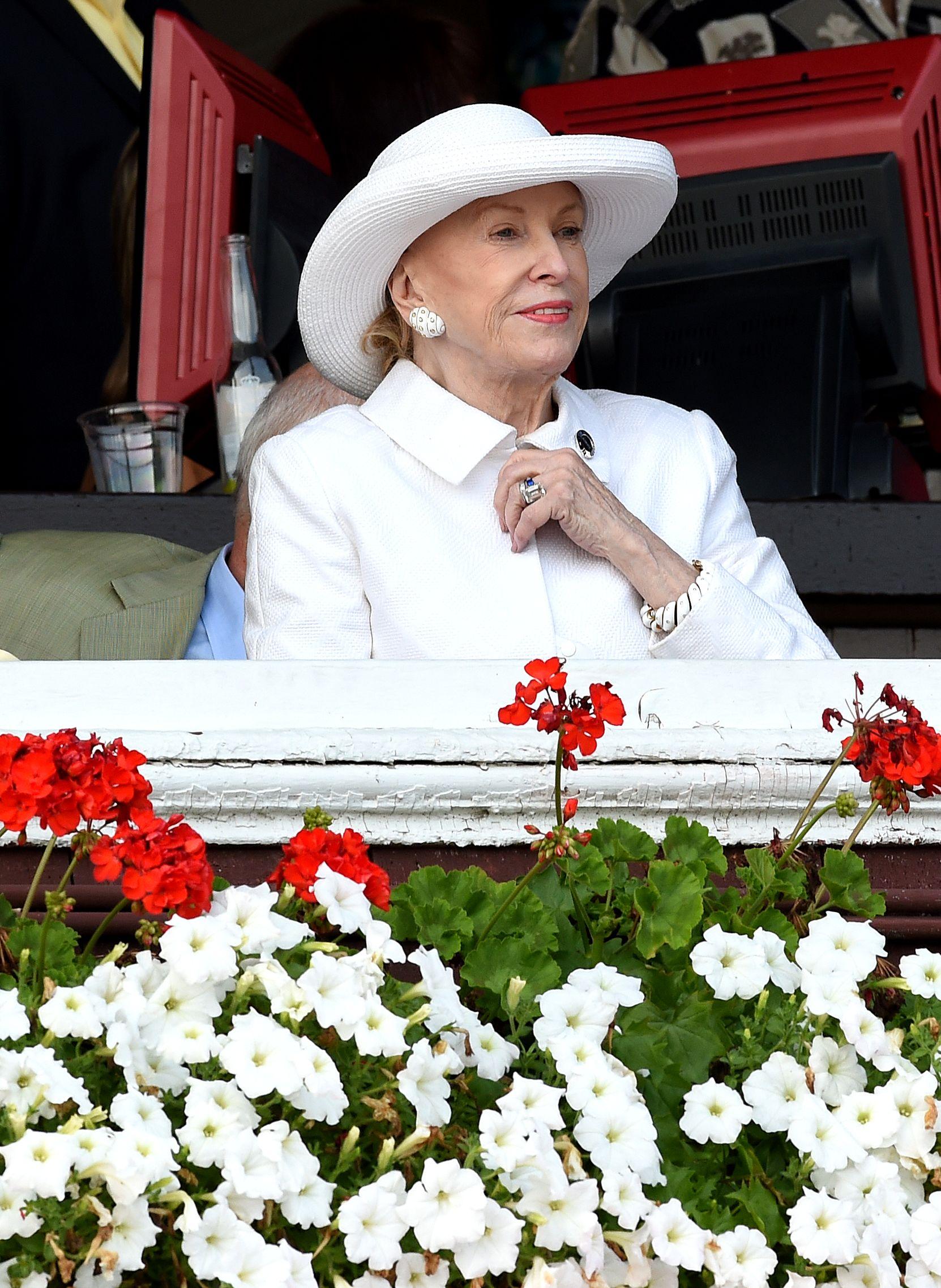 Marylou Whitney at Saratoga, 2014 (NYRA)