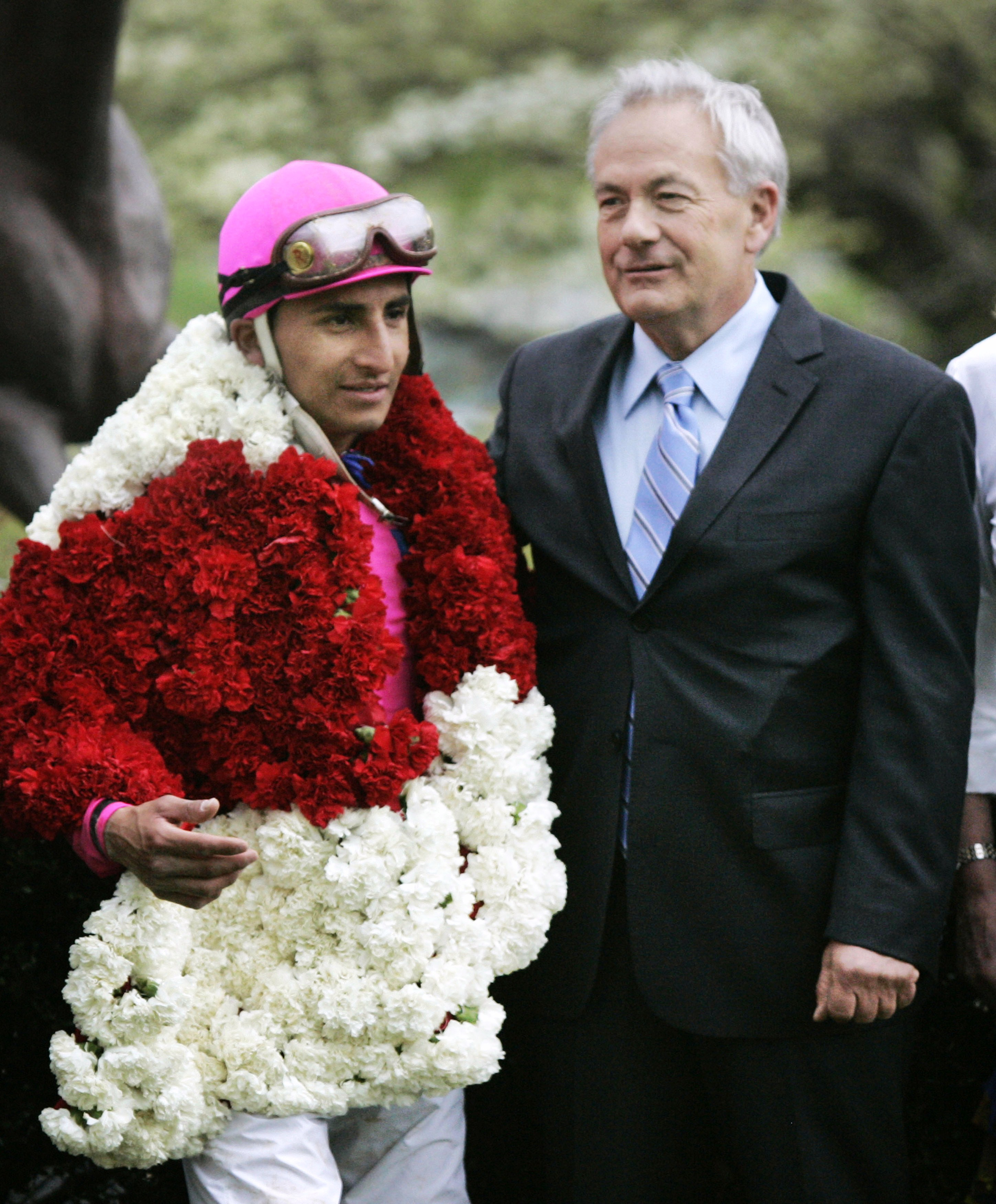 Jerry Hollendorfer and Joel Rosario (Associated Press Photo)
