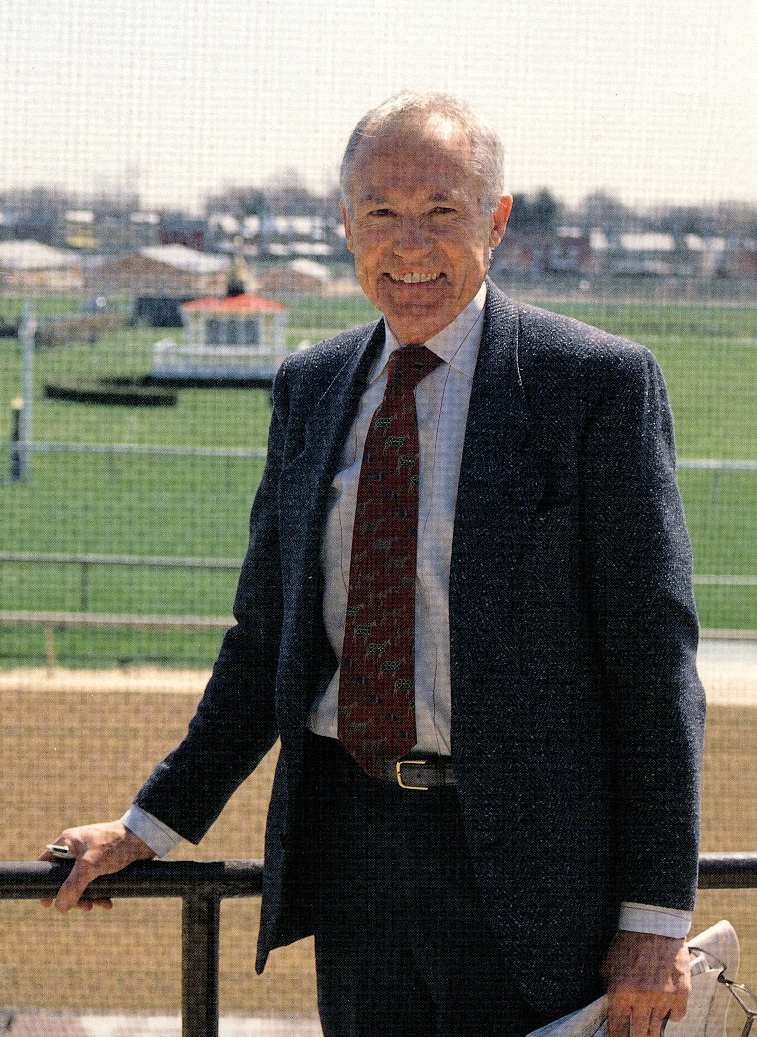 King T. Leatherbury (Jim McCue/Maryland Jockey Club)