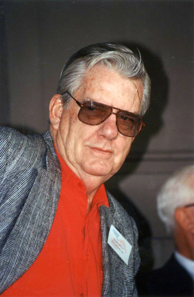 J. Elliott Burch at Hall of Fame Day, August 1990 (Barbara D. Livingston/Museum Collection)
