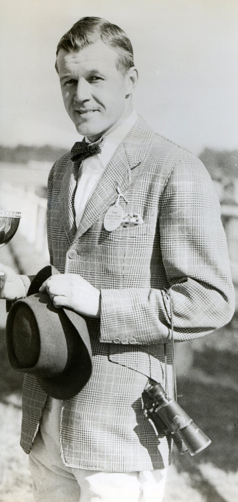 W. Burling Cocks at the races (Bert Morgan/Museum Collection)