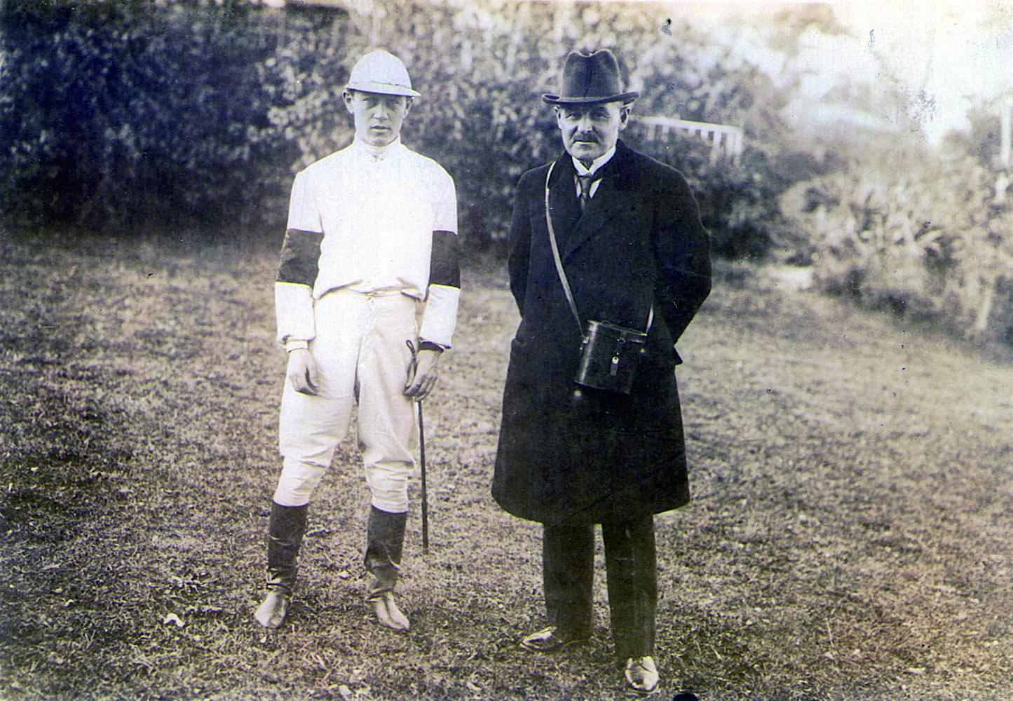 William Duke (right) (Museum Collection)