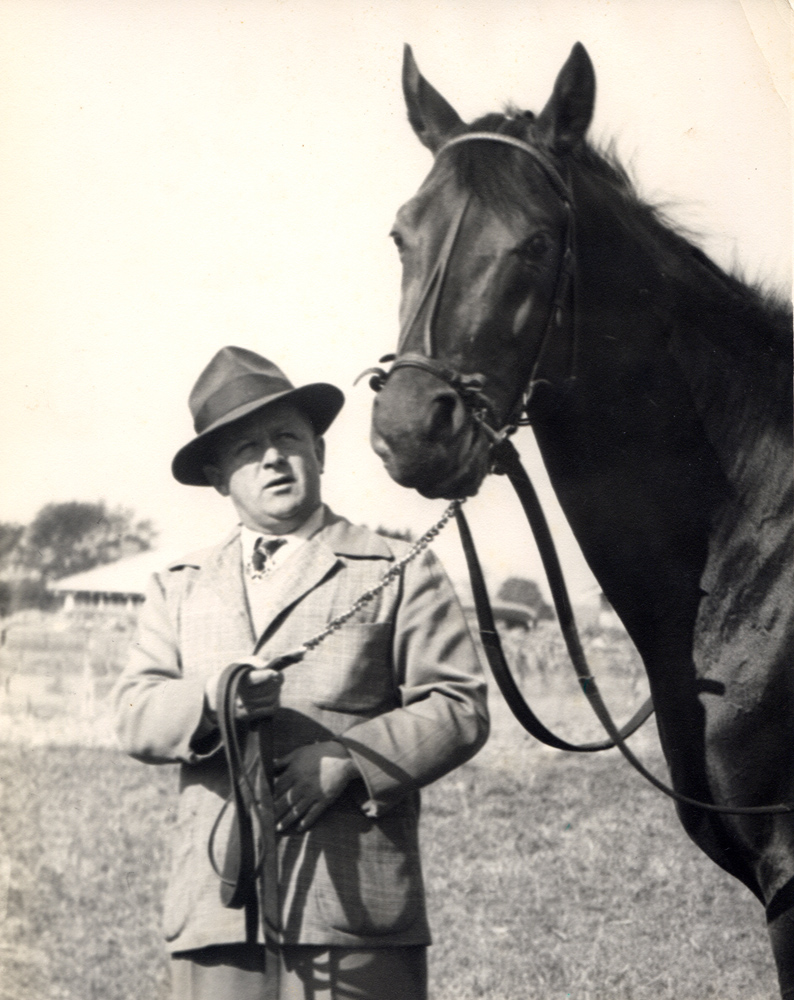 Jimmy Jones and Citation in 1948 (Museum Collection)