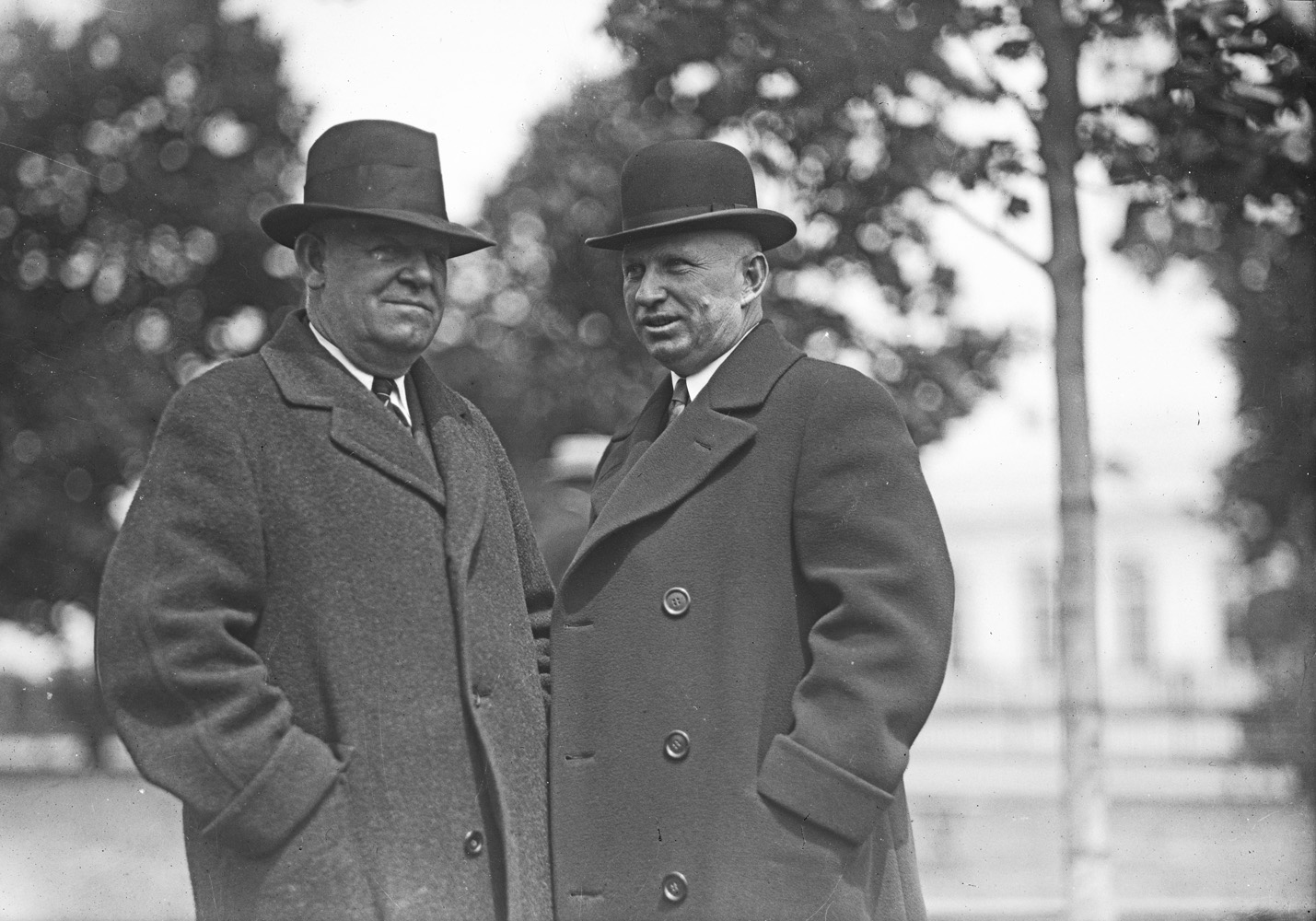 Robert A. Smith and Howard Oots in an undated photograph (Keeneland Library Cook Collection)