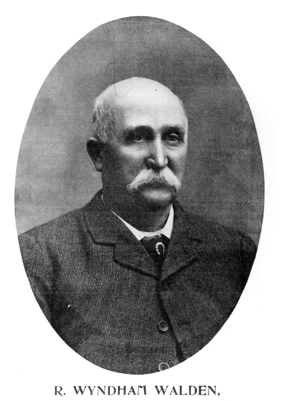 R.Wyndham Walden, 1903 (Museum Collection)