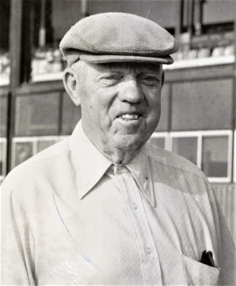 Trainer Michael G. Walsh (Keeneland Library Thoroughbred Times Collection)