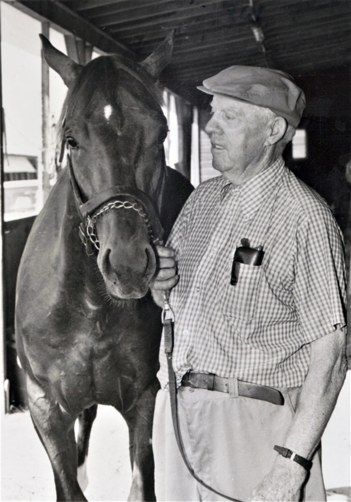 Michael G. Walsh, November 1984 (Keeneland Library Thoroughbred Times Collection)