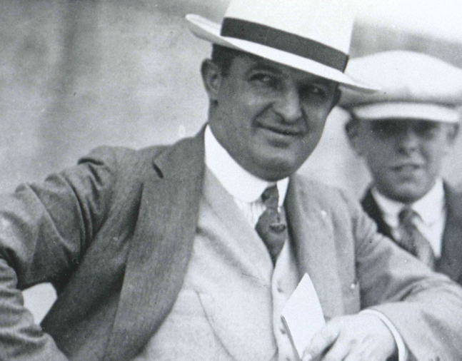 Trainer Louis Feustel (Keeneland Library Cook Collection/Museum Collection)